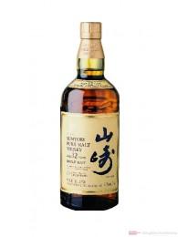 Suntory Yamazaki 12 Years Single Malt Whisky Japan 0,7l