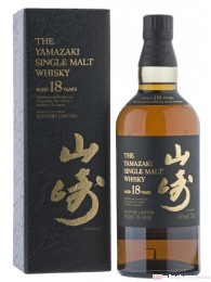 Suntory Yamazaki 18 Years Single Malt Whiskey Japan 0,7l