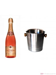 Taittinger Champagner Brut Prestige Rosé im Champagner Kühler 0,75l