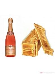 Taittinger Prestige Rosé Brut Champagner in Holzkiste 0,75l