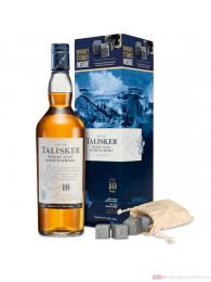 Talisker 10 years mit 4 Whisky-Steinen