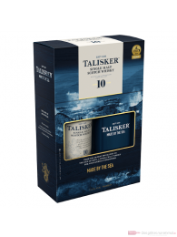 Talisker 10 years mit Hip Flask Single Malt Scotch Whisky 0,7l