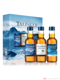 Talisker Miniatur Pack Single Malt Scotch Whisky 3 - 0,05l.