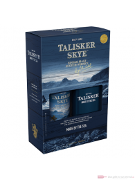 Talisker Skye mit Hip Flask Single Malt Scotch Whisky 0,7l Flasche