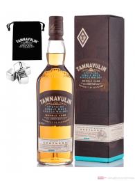 TTamnavulin Double Cask Giftpack + Metall Icecubes Single Malt Scotch Whisky 0,7l