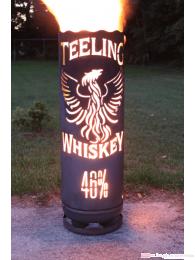 Teeling Whiskey Feuertonne groß circa 100 cm