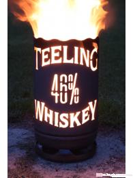 Teeling Whiskey Feuertonne circa 60 cm