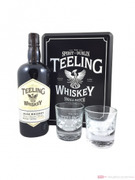 Teeling Small Batch mit 2 Gläsern Irish Whiskey 0,7l