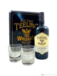 Teeling Small Batch mit 2 Gläsern Irish Whiskey 0,7l