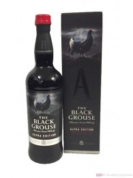 The Black Grouse Alpha Edition Blended Scotch Whisky 0,7l