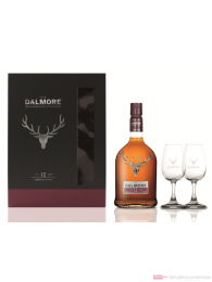 The Dalmore 12 Years mit 2 Gläsern