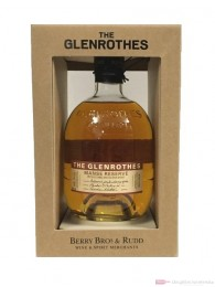 The Glenrothes Manse Reserve Speyside Single Malt Scotch Whisky 0,7l