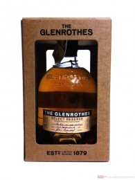 The Glenrothes Select Reserve Speyside Single Malt Scotch Whisky 0,7l