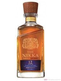 The NIKKA 12 Years Japanese Whisky 0,7l Flasche