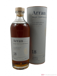 The Arran 18 years Non-chill Filtered Single Malt Scotch Whisky 0,7l