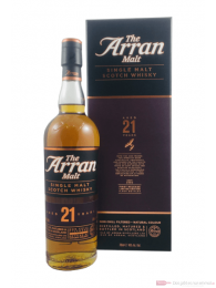 The Arran 21 Years Island Single Malt Scotch Whisky 0,7l