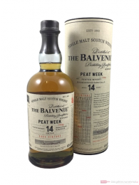Balvenie 14 Years Peat Week Vintage 2002 Scotch Whisky 0,7l