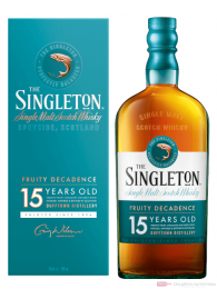 The Singleton of Dufftown Fruity Decadence 15 Jahre Single Malt Scotch Whisky 0,7l