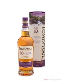 Tomintoul 10 Years Speyside Single Malt Scotch Whisky 0,7l