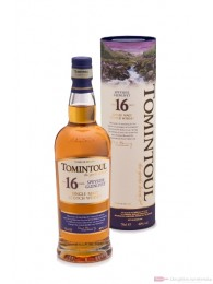 Tomintoul 16 Years Speyside Single Malt Scotch Whisky 0,7l