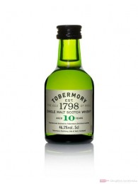 Tobermory 10 Years Single Malt Scotch Whisky 0,05l
