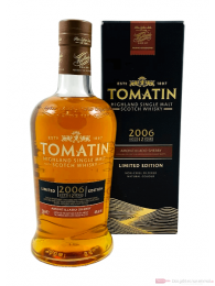 Tomatin Vintage 2006 Amontillado Finish 12 Jahre Single Malt Scotch Whisky 0,7l