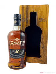 Tomatin 40 Years Single Malt Scotch Whisky 0,7l