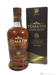 Tomatin 18 Years Highland Single Malt Scotch Whisky 0,7l