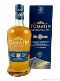 Tomatin 8 Years Single Malt Scotch Whisky 1,0l