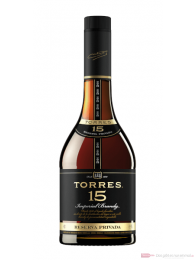 Torres 15 Years Reserva Privada spanischer Brandy in GP 1,0l