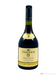 Torres 5 Years Brandy 1,0l