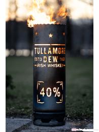 Tullamore Dew Whiskey Feuertonne groß