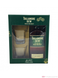Tullamore Dew + 2 Gläser Irish Whiskey 0,7l