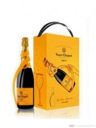 Veuve Clicquot Brut mit Bottle Server 0,75l 12% Flasche