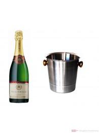 Veuve Emille Champagner Brut im Kühler 0,75 l
