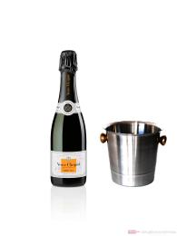 Veuve Clicquot Champagner Demi Sec im Kühler 0,75 l.