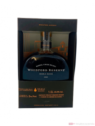 Woodford Reserve Double Oaked Bourbon Whiskey 1,0l