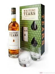 Writers Tears mit 2 Gläsern