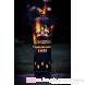 Glengoyne Whisky Feuerstelle mit Tür Rückansicht
