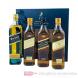Johnnie Walker Collection Set Blended Scotch Whisky 4-0,2l