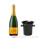 Veuve Clicquot Champagner Brut in Champagner Kübel 0,75l