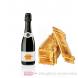 Veuve Clicquot Champagner Demi Sec in Holzkiste geflammt 0,75l