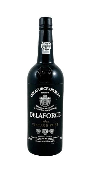 Portwein der Marke Delaforce Vintage 1992 21% 0,75l Flasche