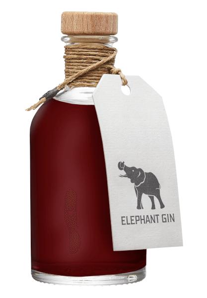 Sloe Gin der Marke Elephant 35% 0,1l Flasche