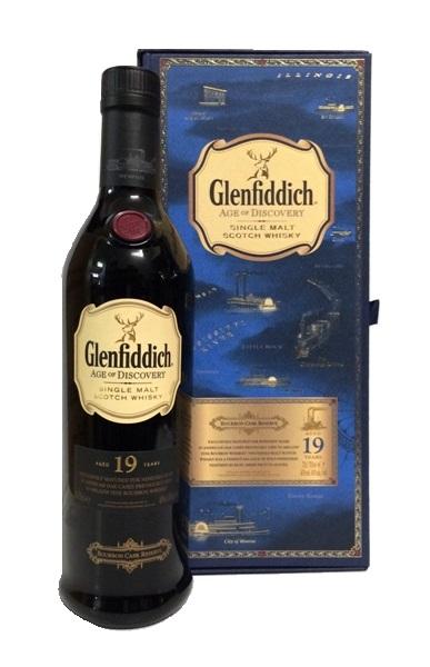 Single Malt Whisky der Marke Glenfiddich Age Of Discovery Bourbon Cask 40% 0,7l Flasche