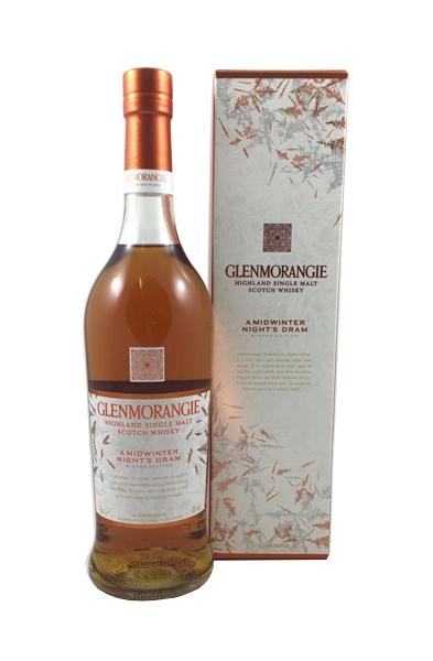 Single Malt Scotch Whisky der Marke Glenmorangie a Midwinter Night´s Dram Winter Editions 43% 0,7l Flasche