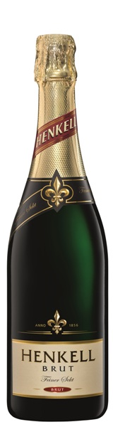 Sekt der Marke Henkell Brut 11,5% 6-0,75l Flaschen