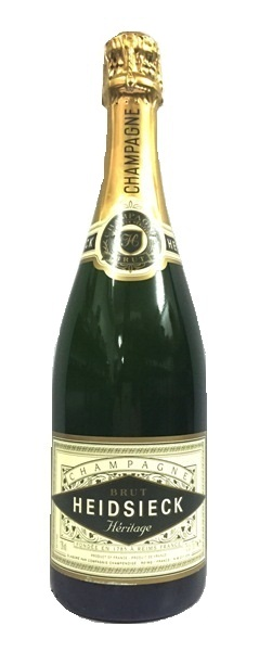 Champagner der Marke Heidsieck Herritage Brut  12% 0,75l Flasche
