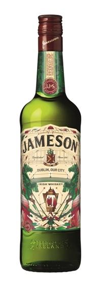 Sonderedition 2016 St. Patricks Day der Marke Jameson 40% 0,7l Flasche