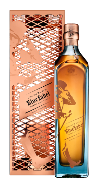 Blended Scotch Whisky der Marke Johnnie Walker Blue Label 40% 0,7l Flasche